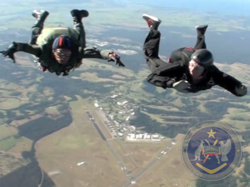 01 Military Free Fall Training